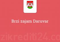 Brzi zajam Daruvar