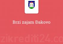 Brzi zajam Đakovo