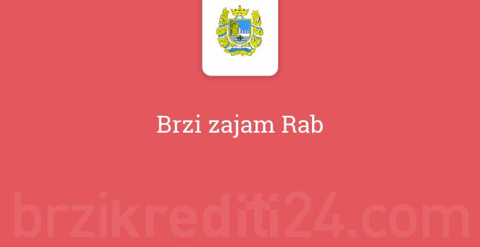 Brzi zajam Rab