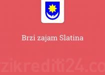 Brzi zajam Slatina