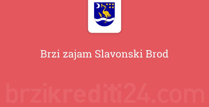 Brzi zajam Slavonski Brod