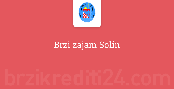 Brzi zajam Solin