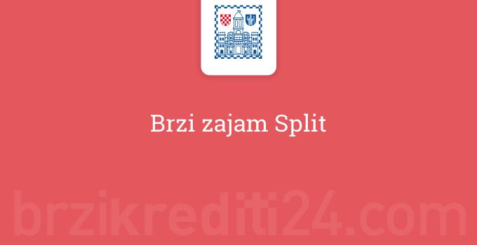 Brzi zajam Split