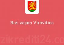 Brzi zajam Virovitica