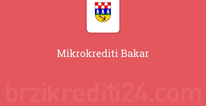 Mikrokrediti Bakar