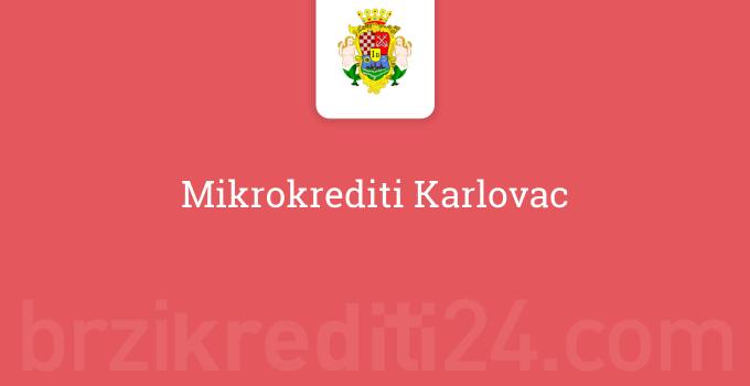 Mikrokrediti Karlovac