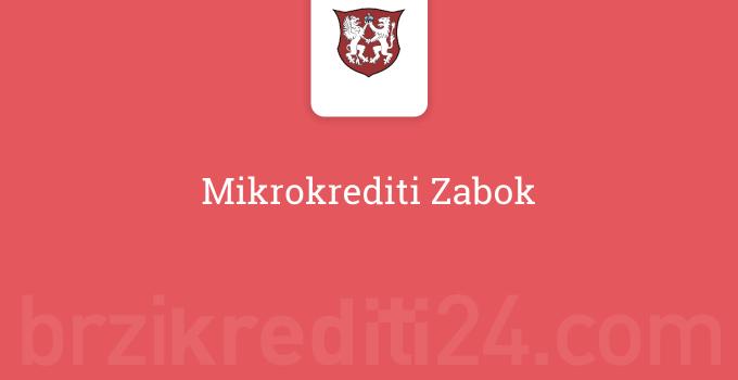 Mikrokrediti Zabok
