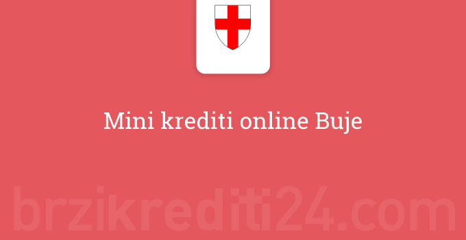 Mini krediti online Buje