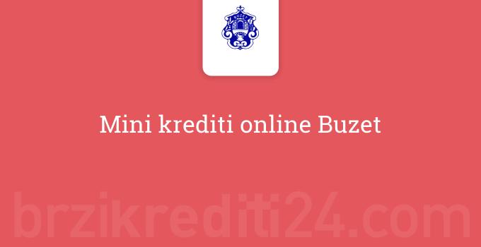 Mini krediti online Buzet