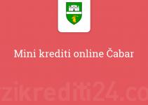 Mini krediti online Čabar