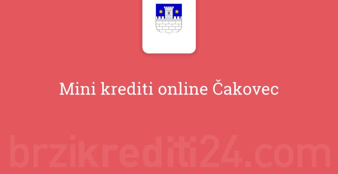 Mini krediti online Čakovec