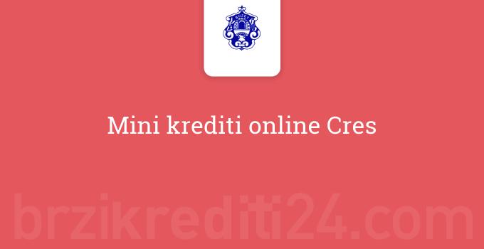 Mini krediti online Cres
