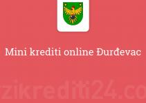 Mini krediti online Đurđevac