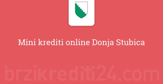 Mini krediti online Donja Stubica