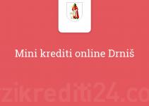 Mini krediti online Drniš