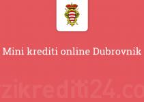 Mini krediti online Dubrovnik