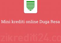 Mini krediti online Duga Resa