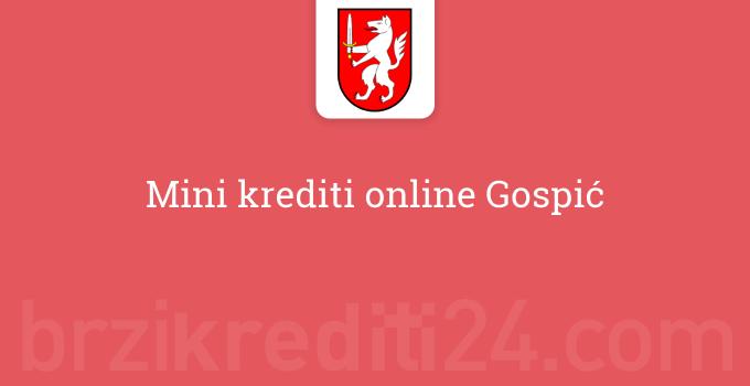Mini krediti online Gospić