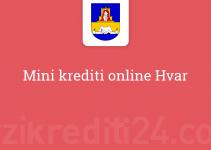Mini krediti online Hvar