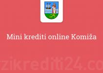 Mini krediti online Komiža