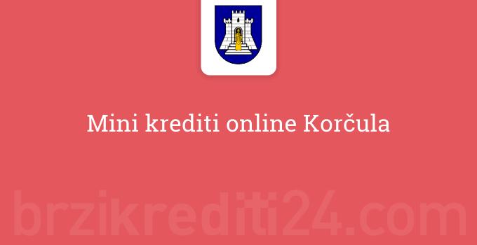 Mini krediti online Korčula