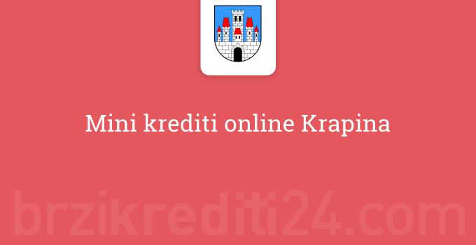 Mini krediti online Krapina