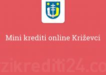 Mini krediti online Križevci
