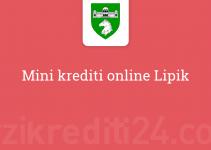 Mini krediti online Lipik