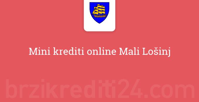Mini krediti online Mali Lošinj
