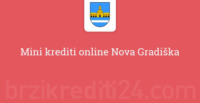 Mini krediti online Nova Gradiška