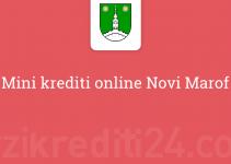 Mini krediti online Novi Marof