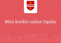 Mini krediti online Ogulin