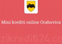 Mini krediti online Orahovica