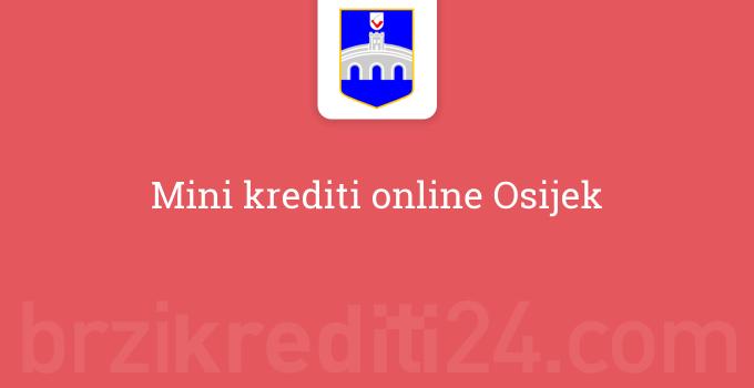 Mini krediti online Osijek