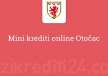Mini krediti online Otočac