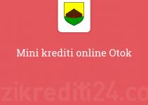 Mini krediti online Otok