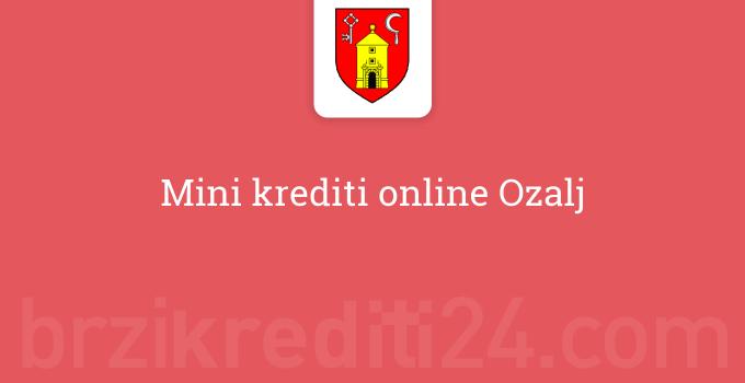Mini krediti online Ozalj