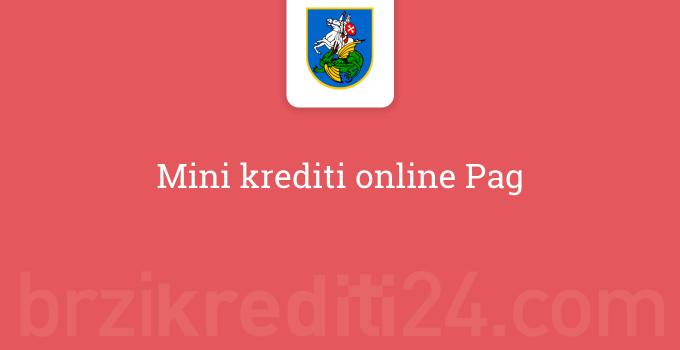 Mini krediti online Pag