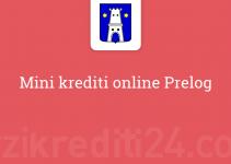 Mini krediti online Prelog