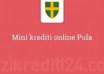 Mini krediti online Pula