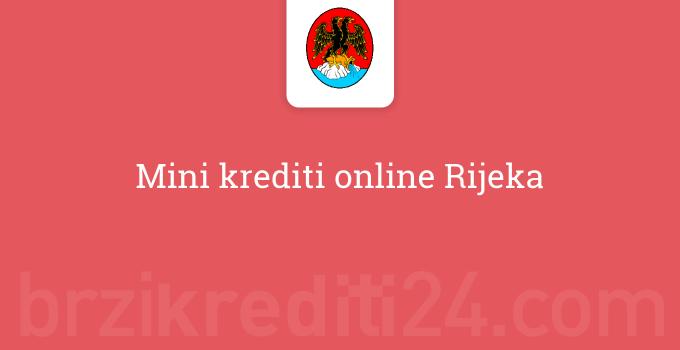 Mini krediti online Rijeka