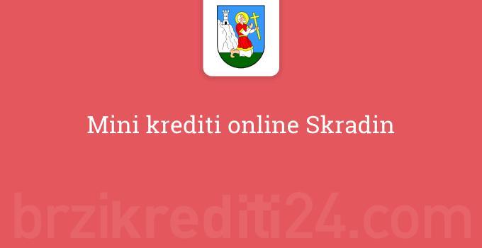 Mini krediti online Skradin