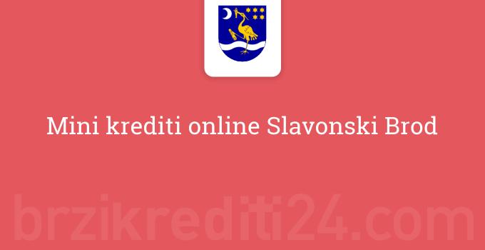 Mini krediti online Slavonski Brod
