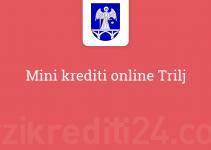 Mini krediti online Trilj