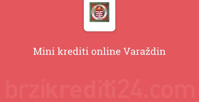 Mini krediti online Varaždin