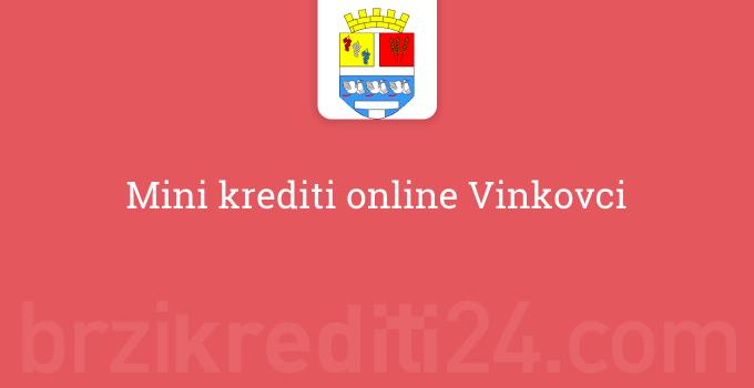 Mini krediti online Vinkovci