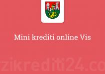 Mini krediti online Vis