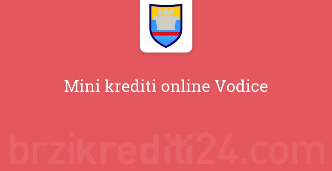 Mini krediti online Vodice