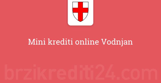 Mini krediti online Vodnjan