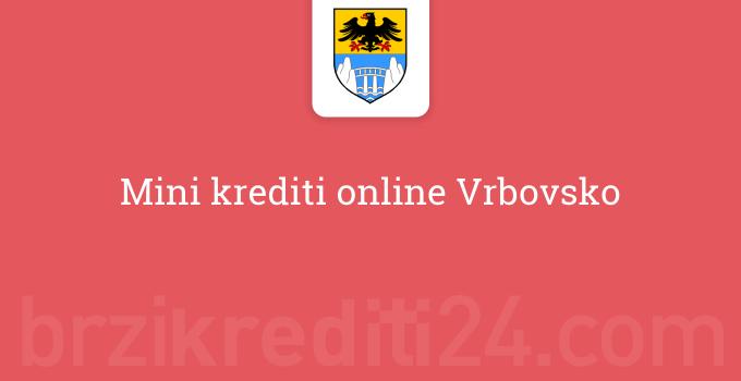 Mini krediti online Vrbovsko